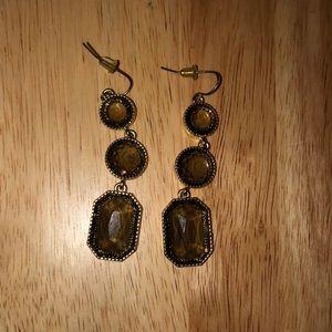Francesca's Black Earrings